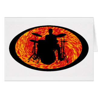 THE DRUMS SUN CARD