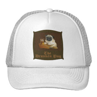 The Drunken Pug logo Hat
