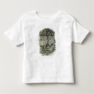 The Drunkenness of Noah, hexagonal decorative Toddler T-Shirt