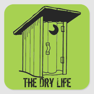 The Dry Life sticker
