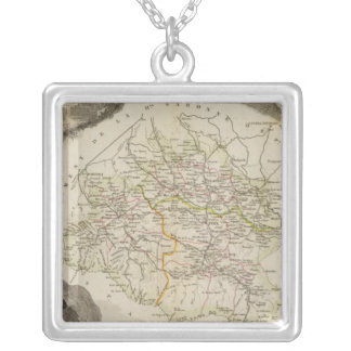 The dryness silver plated necklace