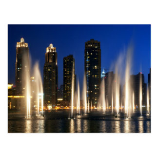 The Dubai Fountains Postcard