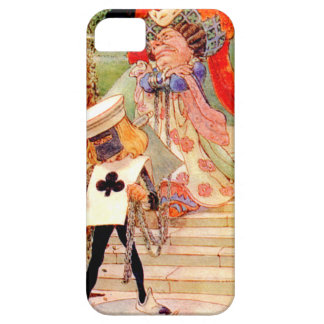 The Duchess and the Executioner in Wonderland Barely There iPhone 5 Case