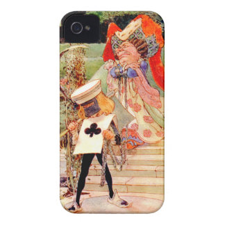 The Duchess and the Executioner in Wonderland iPhone 4 Case-Mate Case