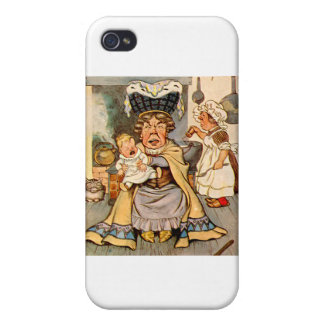 The Duchess and The Pig Baby in Her Kitchen iPhone 4/4S Case