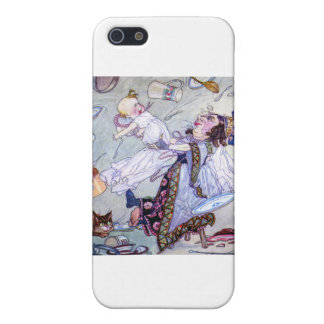 The Duchess and the Pig Baby in Wonderland iPhone 5 Case