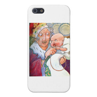 The Duchess in Her Kitchen with the Pig Baby iPhone 5 Cases