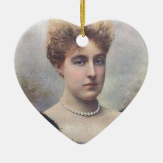 The Duchess Of Aosta Ceramic Heart Decoration