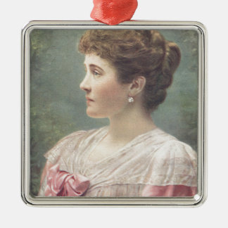 The Duchess Of Connaught Silver-Colored Square Decoration