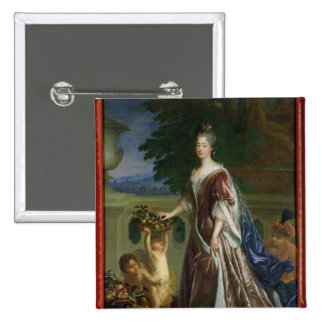 The Duchess of Maine 15 Cm Square Badge