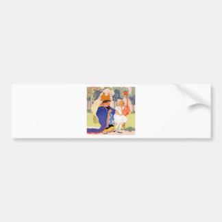 The Duchess Offers Alice Flamingo Croquet Tips Bumper Sticker