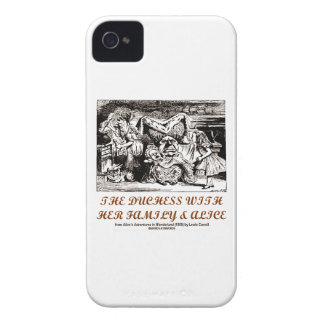 The Duchess With Her Family & Alice (Wonderland) iPhone 4 Case