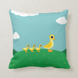 The Duck Family Cushion