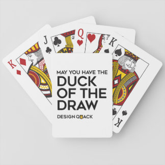 The Duck of the Draw Playing Cards
