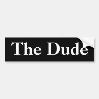 The Dude Bumper Sticker