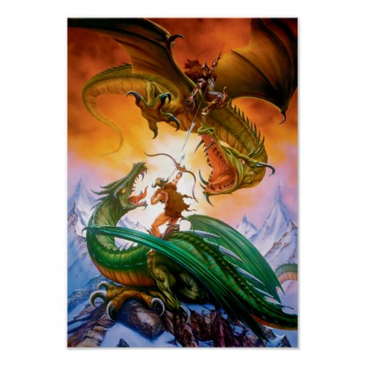The Duel Dragon Poster