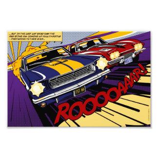 The Duel: Mustang vs. Corvette Photograph