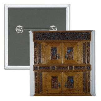 The Duerer Cupboard, 1510 15 Cm Square Badge