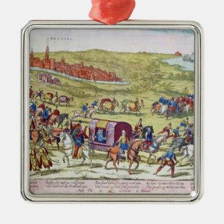 The Duke of Alba, recalled to Spain Christmas Ornament