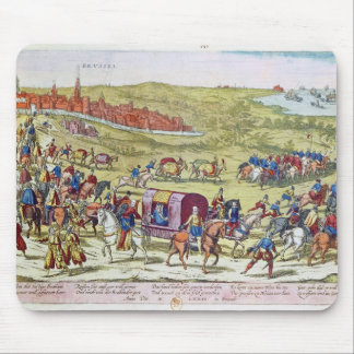 The Duke of Alba, recalled to Spain Mouse Mat