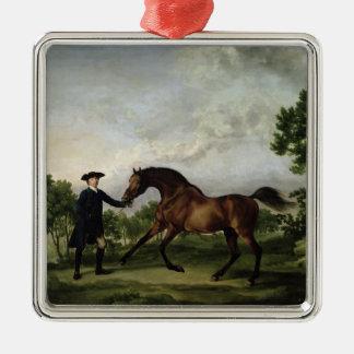 """The Duke of Ancaster's bay stallion """"Blank"""" Christmas Ornament"""