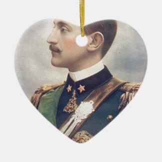 The Duke Of Aosta Ceramic Heart Decoration