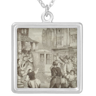 The Duke of Buckingham Silver Plated Necklace