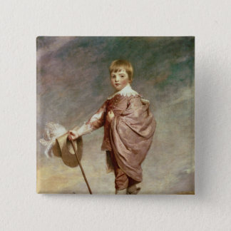The Duke of Gloucester as a boy 15 Cm Square Badge