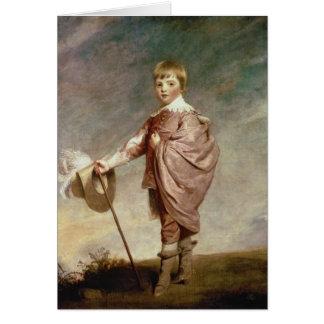 The Duke of Gloucester as a boy Card