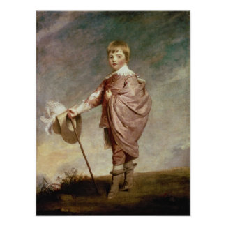 The Duke of Gloucester as a boy Poster