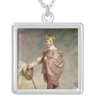 The Duke of Gloucester as a boy Silver Plated Necklace