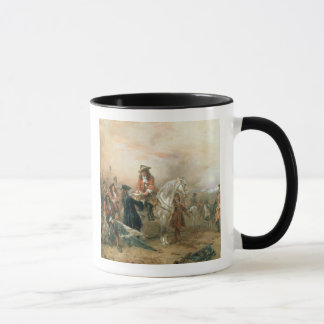 The Duke of Marlborough (1650-1722) signing the De Mug