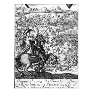 The Duke of Marlborough Defeats Postcard