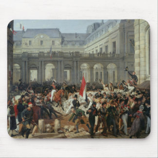 The Duke of Orleans Leaves the Palais-Royal Mouse Mat