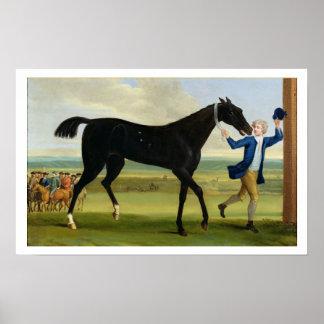 The Duke of Rutland s Bonny Black c 1720 oil o Print