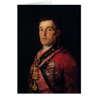 The Duke of Wellington  1812-14 Greeting Card