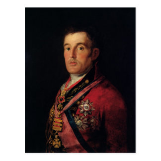 The Duke of Wellington  1812-14 Postcard