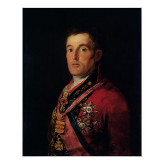 The Duke of Wellington  1812-14 Poster