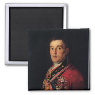 The Duke of Wellington  1812-14 Square Magnet