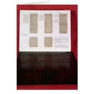 The Duke of Wellington's battle orders Greeting Card