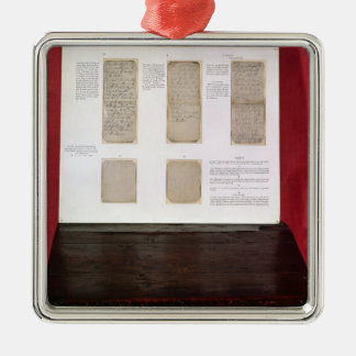 The Duke of Wellington's battle orders Christmas Ornament
