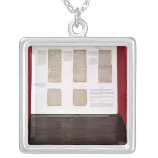The Duke of Wellington's battle orders Silver Plated Necklace