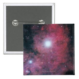 The Dumbell Nebula 15 Cm Square Badge