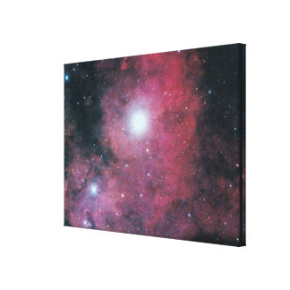 The Dumbell Nebula Canvas Print