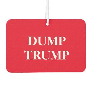 """The """"Dump Trump"""" car air freshner"""