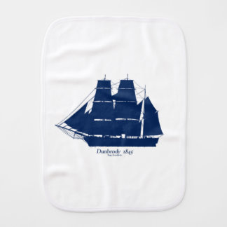 The Dunbrody 1845 by tony fernandes Burp Cloth