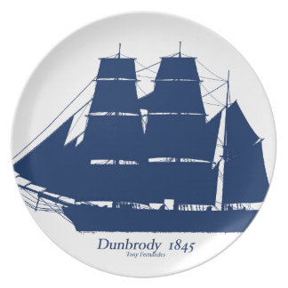 The Dunbrody 1845 by tony fernandes Plate