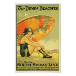 The Dunes Beaches Poster