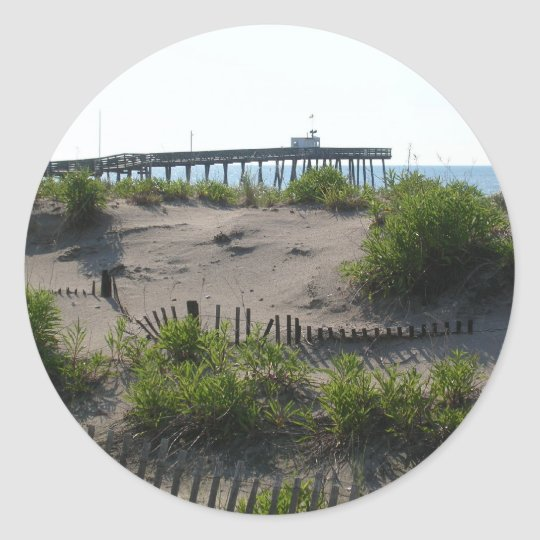 The Dunes Classic Round Sticker