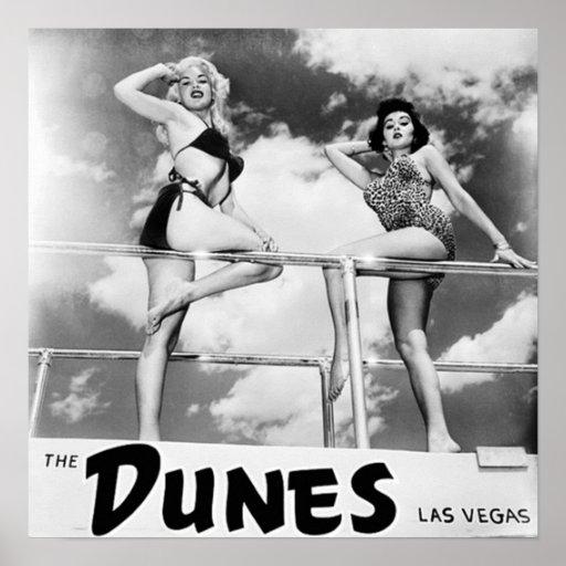 The Dunes Las Vegas Poster